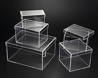 misterplexi clear acrylic display boxes with lids. Black Bedroom Furniture Sets. Home Design Ideas