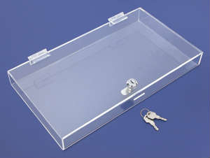 Acrylic Showcases, Locking displays, Security displays, Plexiglas, Plexiglass, Lucite, Plastic, plexi