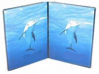 Clear Acrylic Multiple Panel Book Style Photo Frames