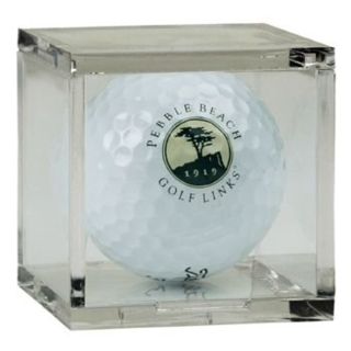 BQ1 Acrylic Sports Collectible Display Boxes, Plexiglas, Plexiglass, lucite  and plastic, sports and collectible cases, Golf Ball