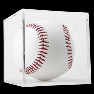 Clear Acrylic Baseball Display Case For Displaying Sports Memorabilia or Autographed Baseballs or Tennis Balls