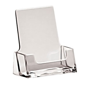 Countertop and Wallmount Business Card and gift Card Holders in Acrylic, Plexiglas, Plexiglass, Lucite, Plastic
