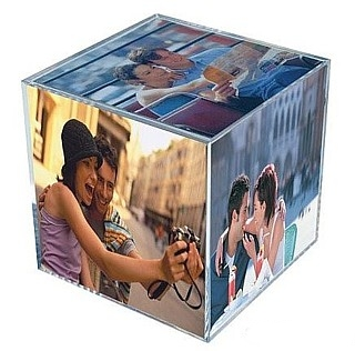 Acrylic Photo Cubes, Plexiglas, Plexiglass, lucite  and plastic, Foto Cube