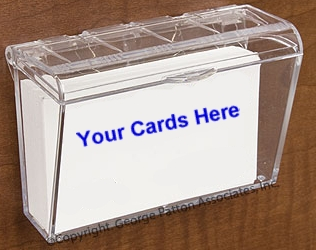 Outdoor Literature And Brochure Holders Weatherproof Business Card Holder For Exterior Use